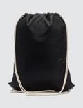 Prada Nylon Logo Drawstring Backpack