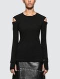 Helmut Lang Slash Longsleeve T-shirt Picutre