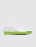 Common Projects Achilles with Colored Sole Sneaker Picutre
