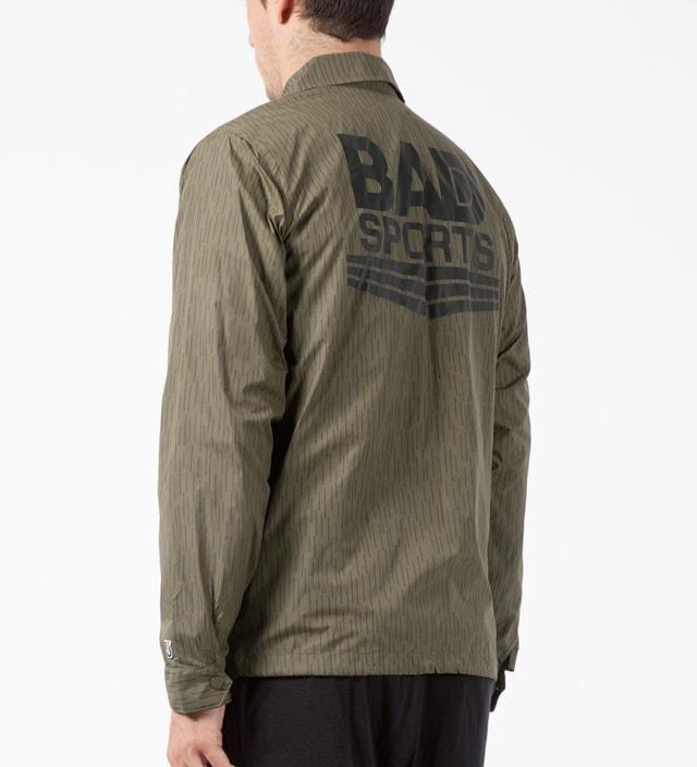 Undefeated Olive Bad Sports Rain Coach Jacket