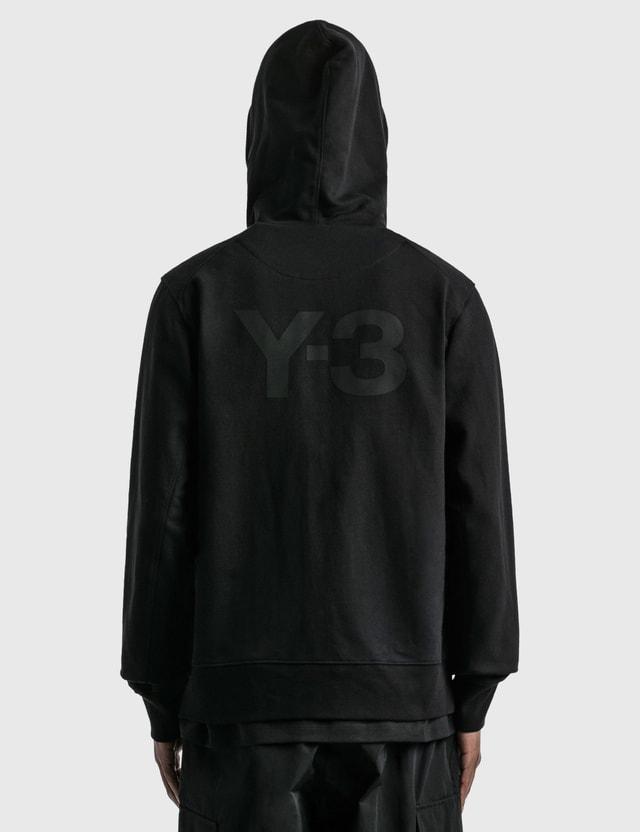 Y-3 Classic Back Logo Full-zip Hoodie Black Men