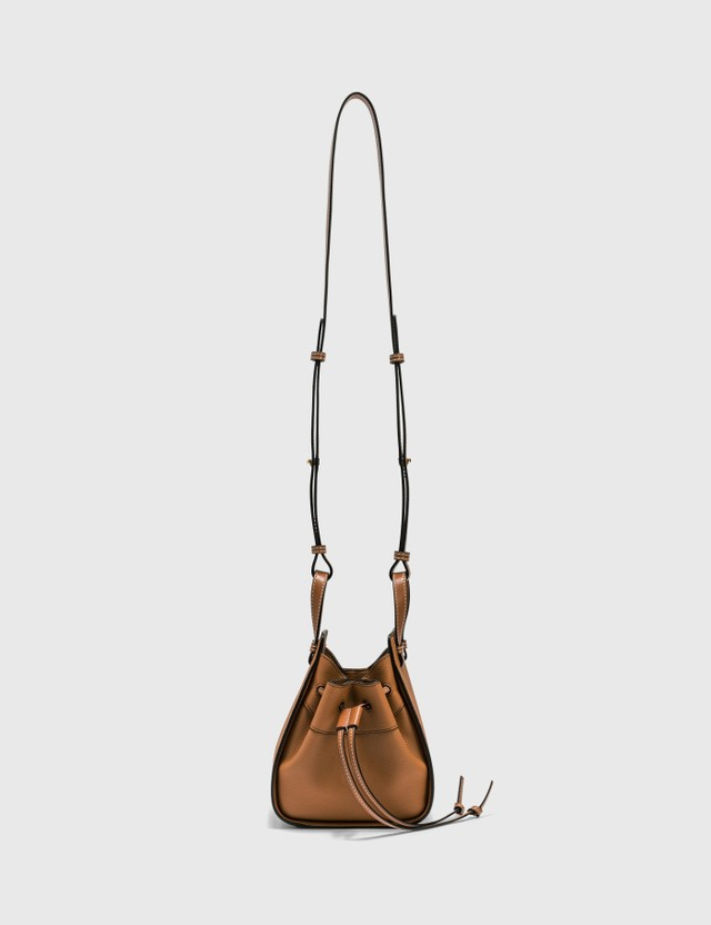 Loewe Mini Hammock Drawstring Bag Light Caramel Women