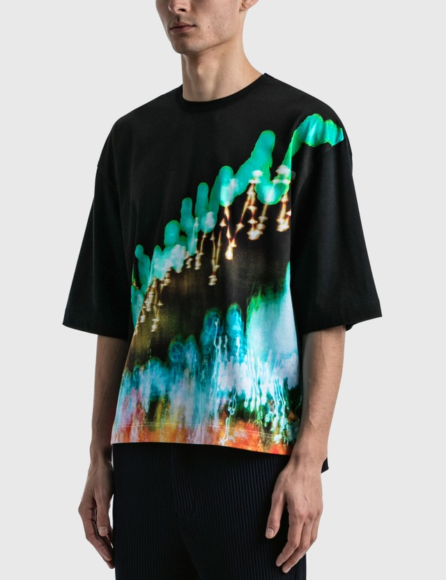 JieDa Shun Komiyama Photo T-shirt Black Men