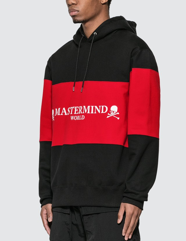 Mastermind World Paneled Hoodie With Logo Print