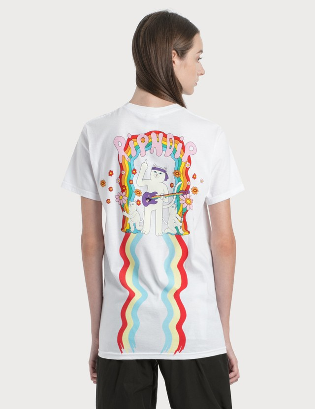 RIPNDIP Groovy Nerm 티셔츠 White Women
