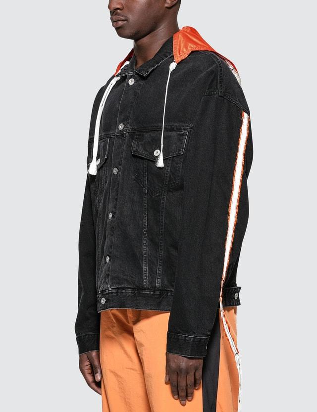 Heron Preston Parachute Denim Jacket