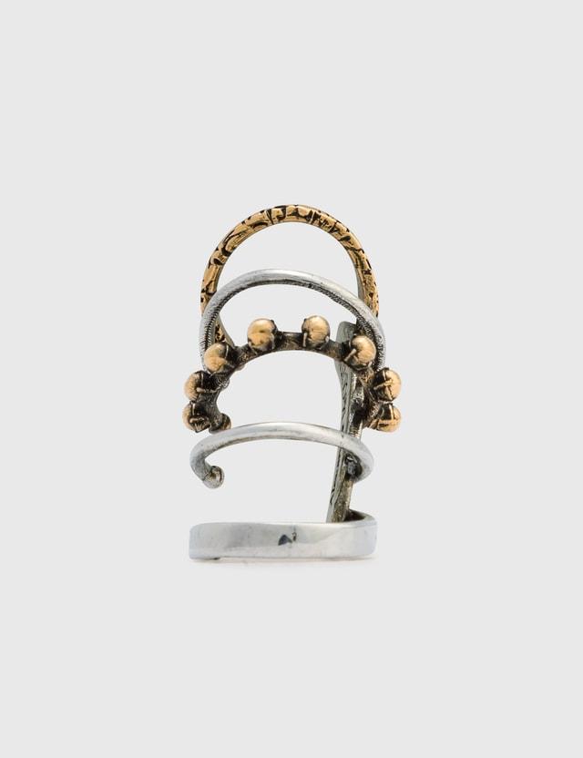 Alexander McQueen Punk Ear Cuff 0446+0448+multi Women