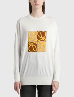 Loewe Anagram Embroidered Sweater