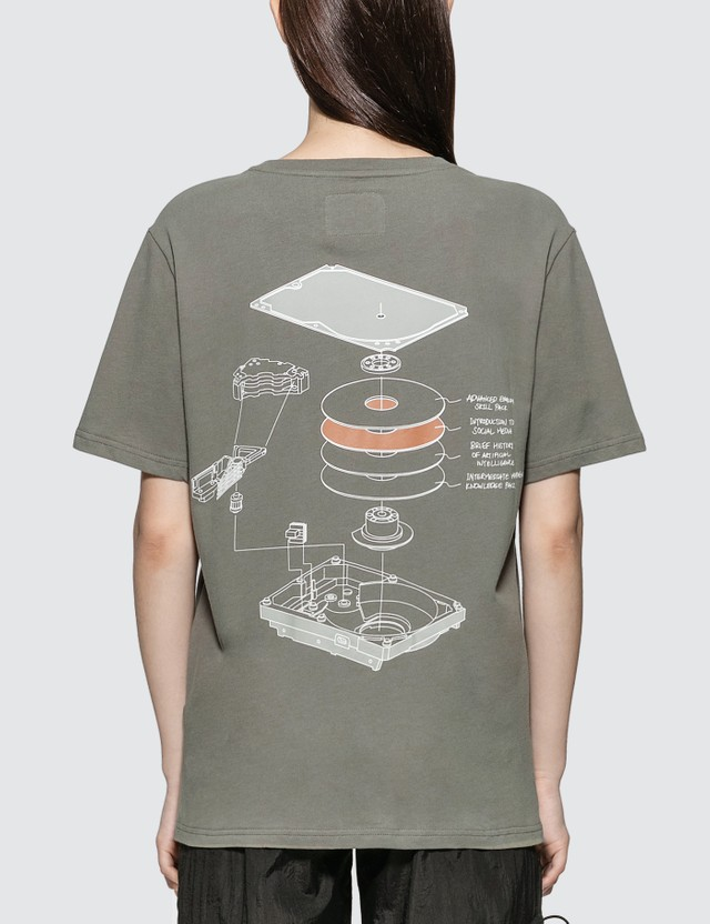C2H4 Los Angeles Human Data Storage Blueprint T-shirt