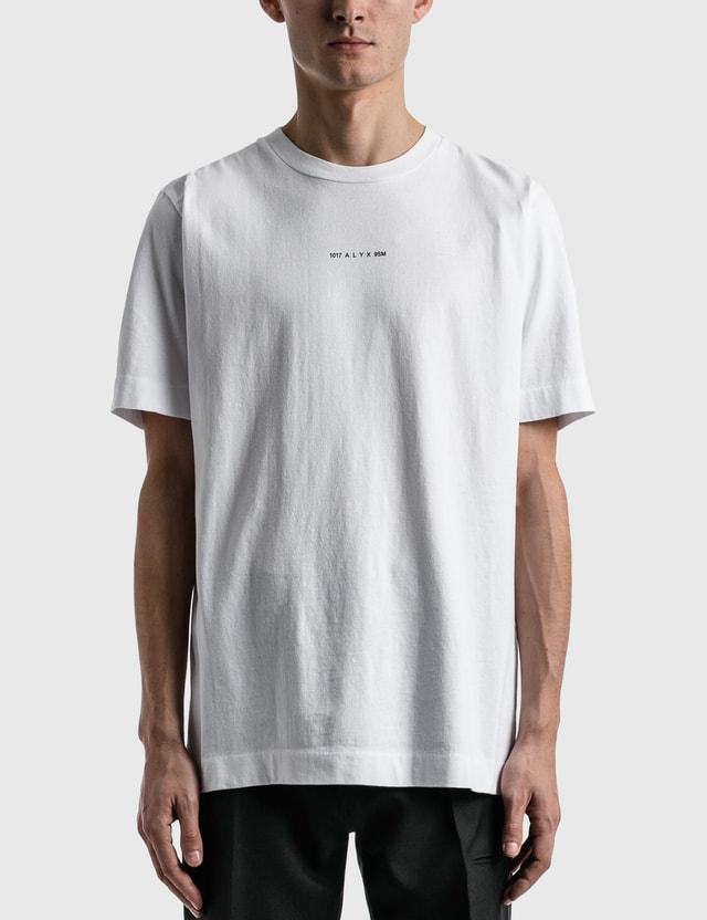 1017 ALYX 9SM Collection Name T-shirt White Men