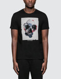 Alexander McQueen Floral Box Skull Print S/S T-Shirt Picture