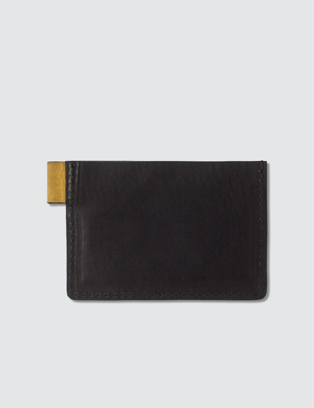 GEO Leather Card Holder