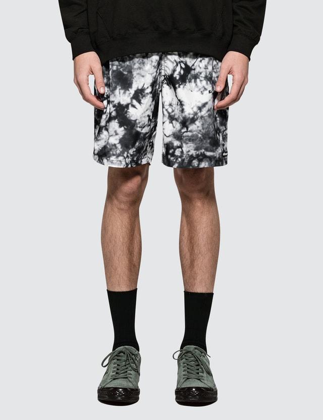 Stussy Bleach Nylon Mountain Shorts