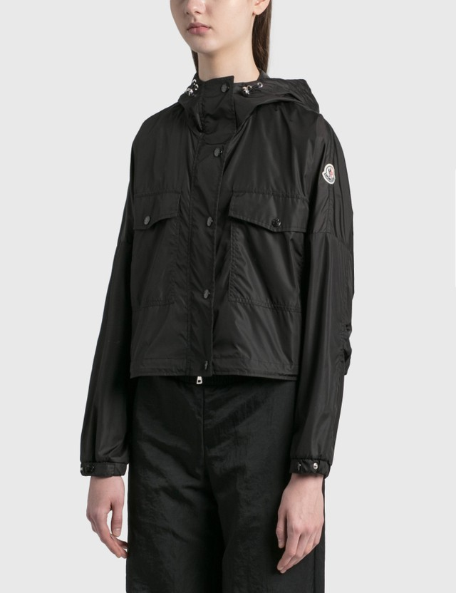 Moncler Primagiedi Nylon Jacket Black Women
