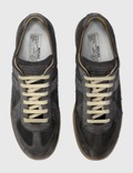 Maison Margiela Replica Low Top Sneakers Black Men