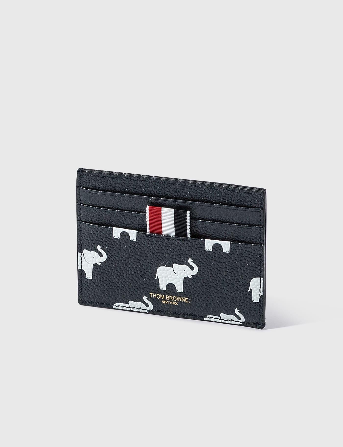 Elephant Print Single Card Holder