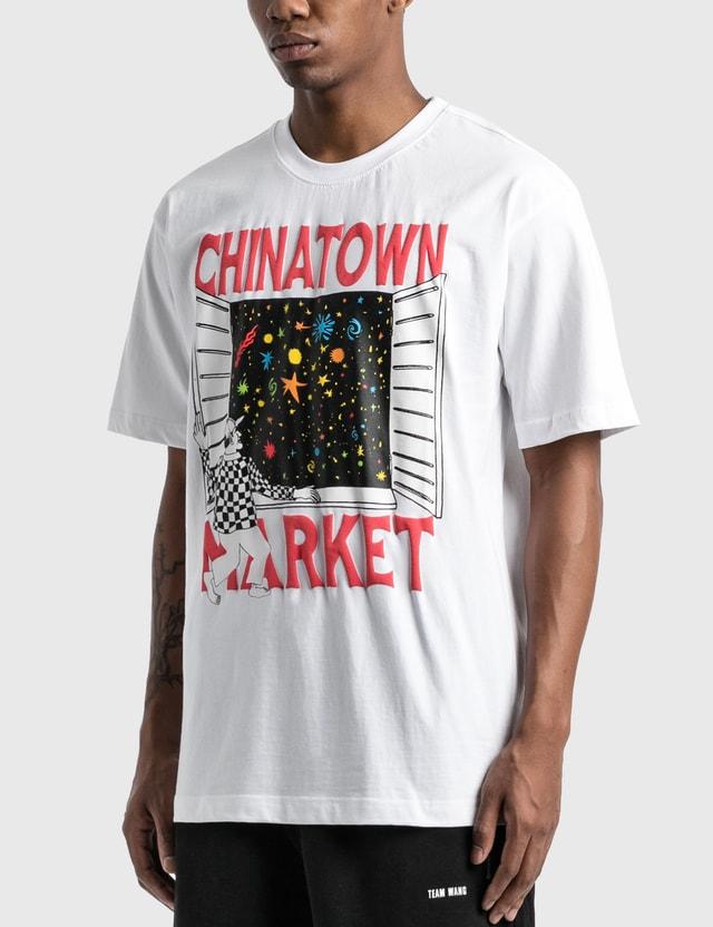Chinatown Market Window T-Shirt White Men