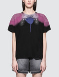 Marcelo Burlon Abstract Spray Wings Short Sleeve T-shirt