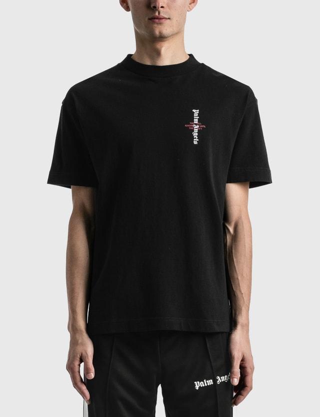 Palm Angels Statement Logo T-shirt Black Men