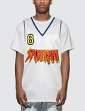 Faith Connexion Mesh BB Jersey White Men