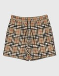 Burberry Vintage Check Drawcord Swim Shorts Archive Beige Ip Chk Men