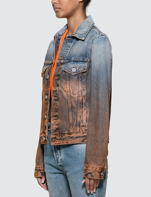 Off-White Degrade Denim Jacket