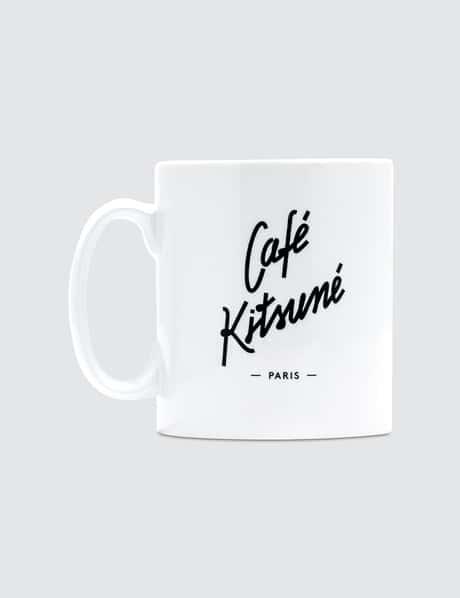 메종 키츠네 <카페 키츠네 컬렉션> 머그컵 화이트 Maison Kitsune Cafe Kitsune Mug