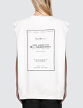 MM6 Maison Margiela Under Construction Sleeveless Sweatshirt Picture
