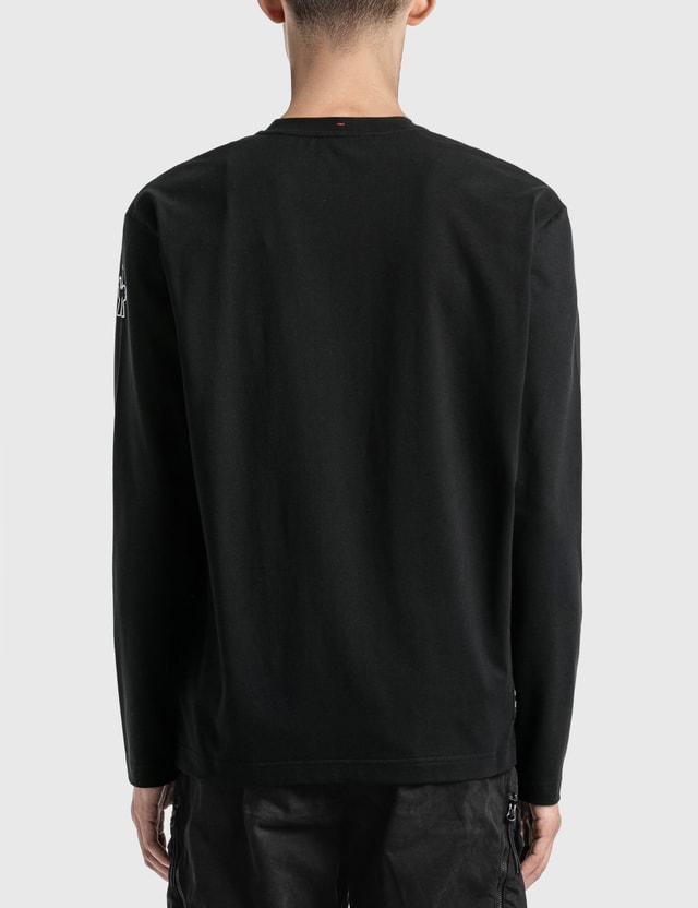 Moncler Grenoble Long Sleeve T-Shirt Black Men