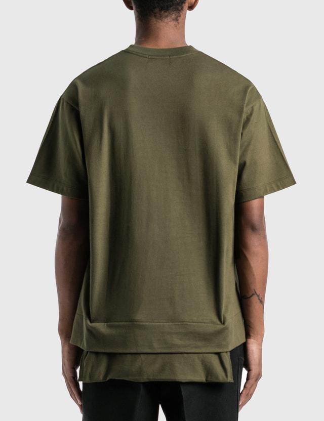 Ambush New Waist Pocket T-Shirt Dark Green Men