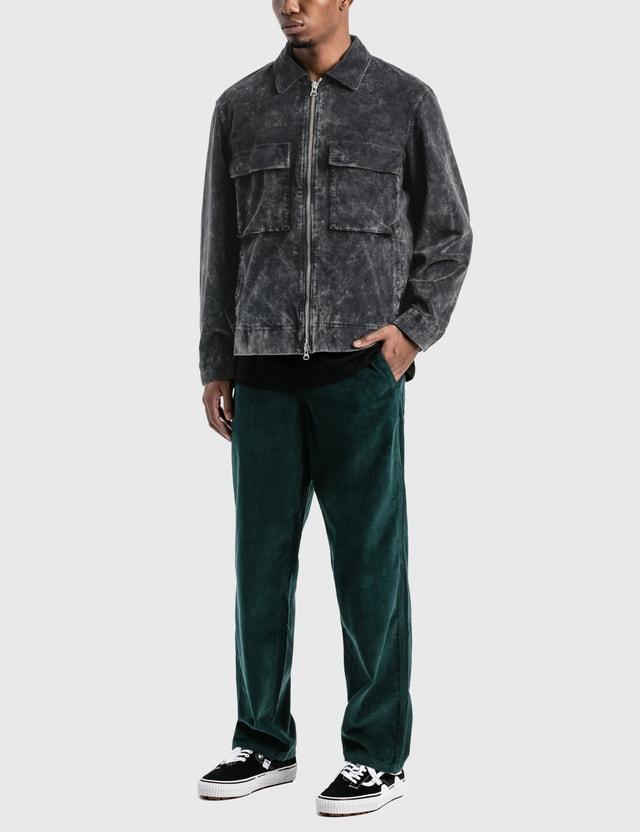 Victoria Bedford Corduroy Garage Jacket Faded Black Men