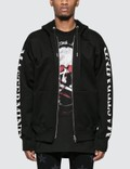 Mastermind World Sleeve Logo Print Full Zip Hoodie Picutre