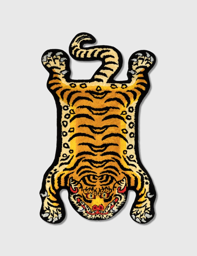 RAW EMOTIONS Small Tibetan Tiger Rug
