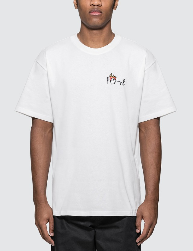 Polar Skate Co. Castle Fill Logo T-shirt