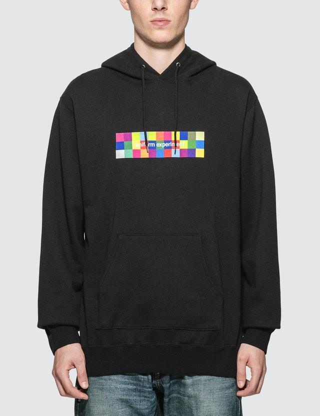 uniform experiment Color Chart Box Logo Hoodie