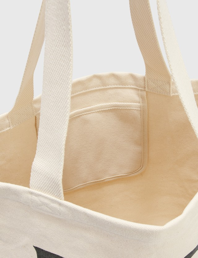 Stussy Peace And Love Canvas Tote Bag Natural Men