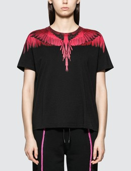 Marcelo Burlon Fucsia Wings T-shirt