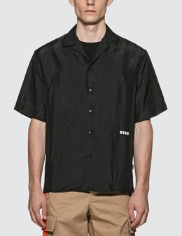 MSGM Iridescent Silk Shirt