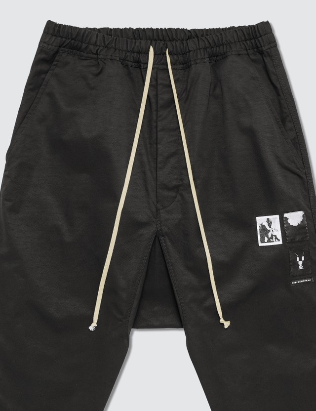 Rick Owens Drkshdw Drawstring Cropped Pants