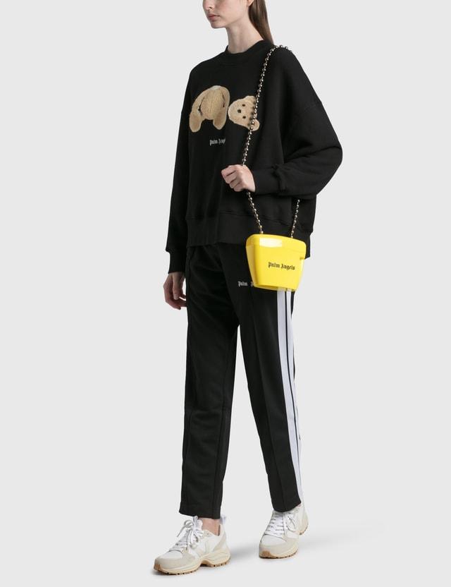 Palm Angels Mini Padlock Bag Yellow Women