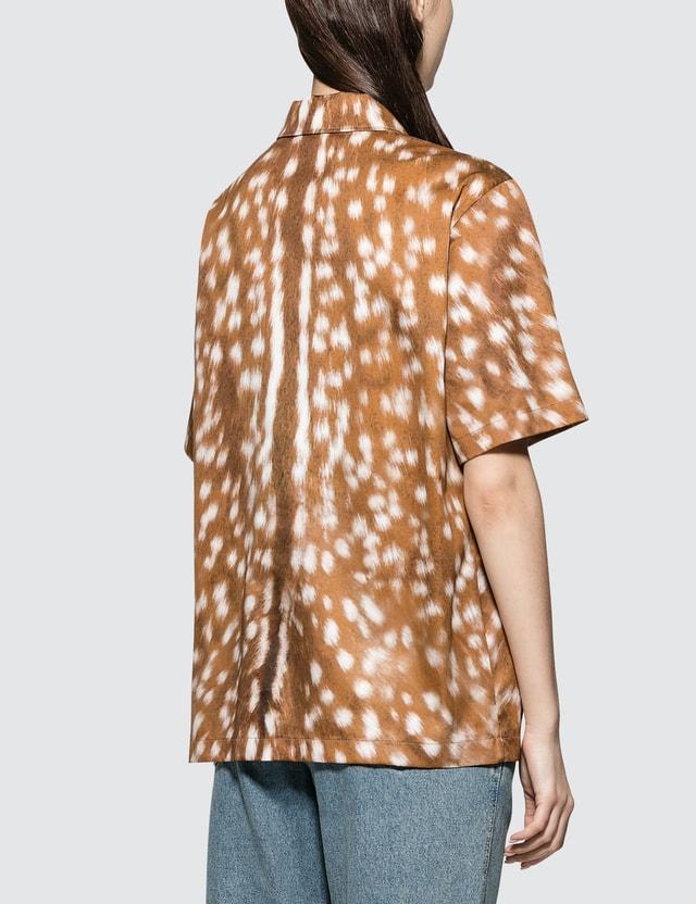 Burberry Animal Print Woven Shirt