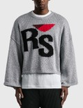 Raf Simons Short Oversized RS Sweater Picutre