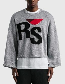 Raf Simons Short Oversized RS Sweater