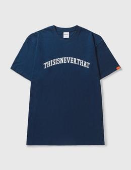 Thisisneverthat Arc Logo T-shirt