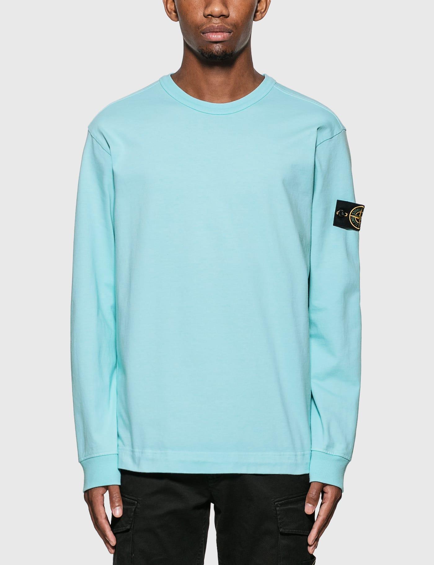 Compass Patch Logo Long Sleeve T-Shirt