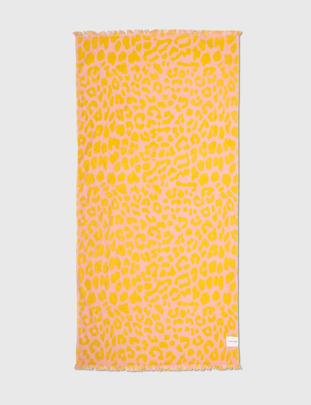 Sunnylife Turkish Towel – Call Of The Wild Yellow Life