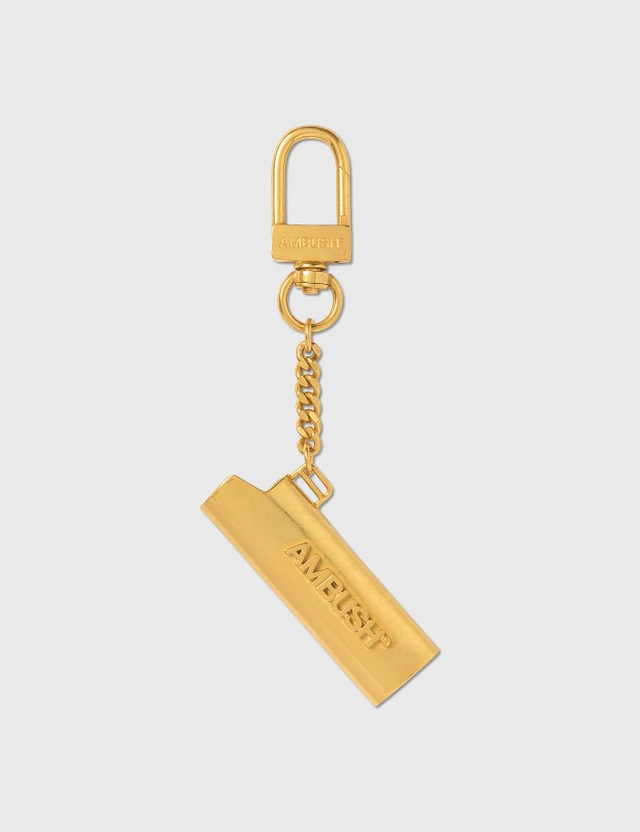 Ambush Lighter Case Keychain Gold Men
