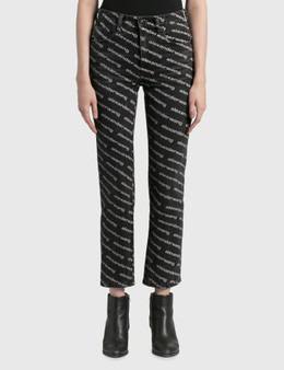 Alexander Wang.T High Rise Slim Jeans