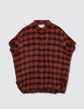 R13 R13 Oversized Check Shirt Picture