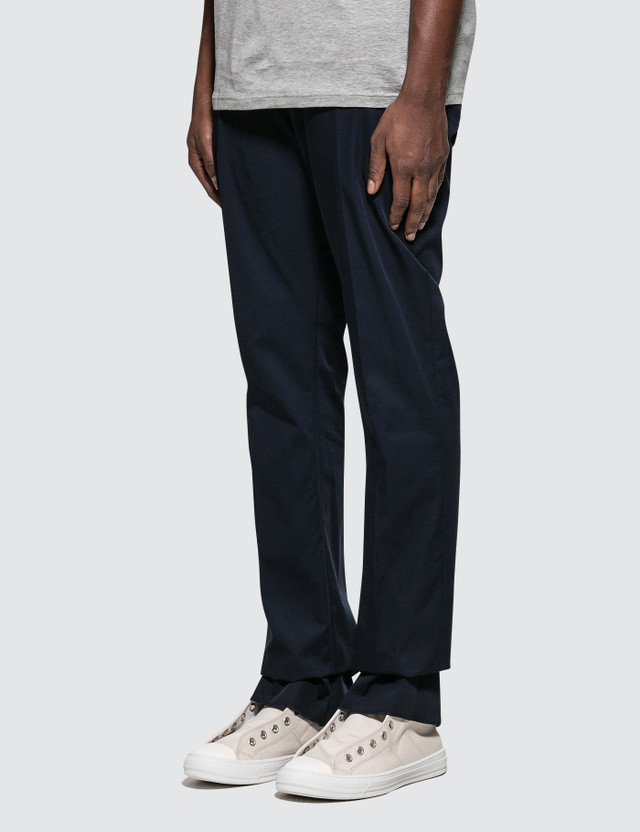 Lanvin Fitted Pants with Cord On Belt